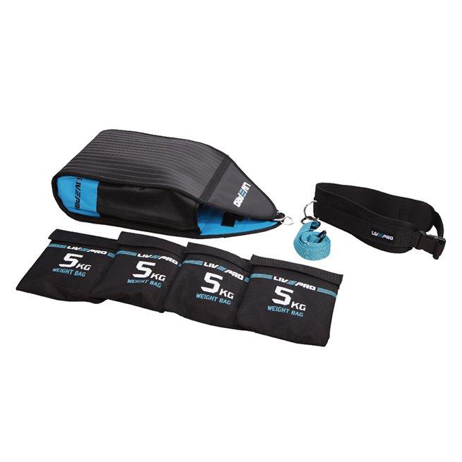 LivePro Speed Sac - Motståndssäck, Träningsredskap