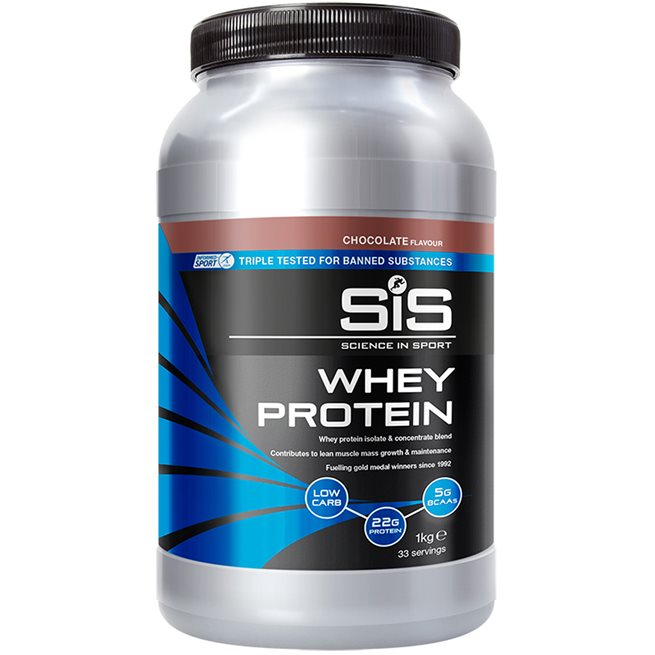 SIS Recoverydrink Whey Protein Choklad, Proteinpulver