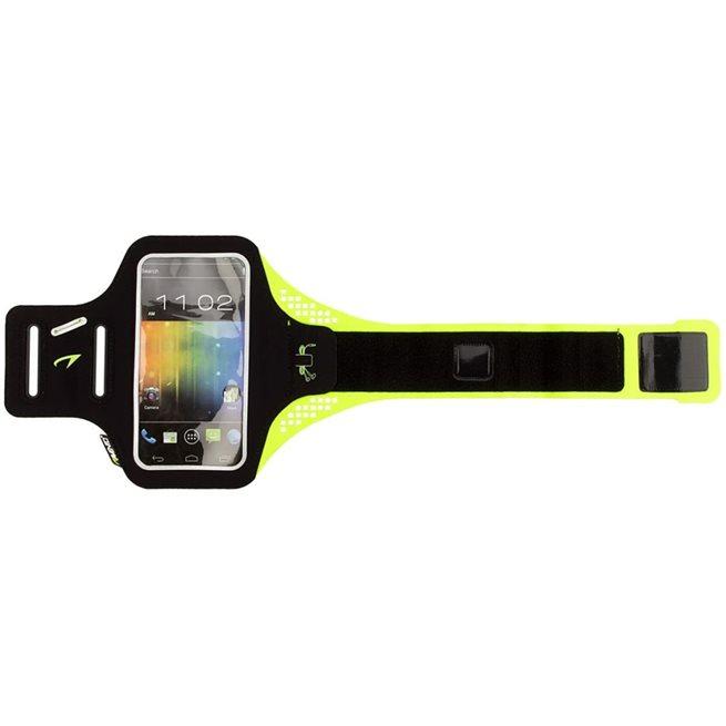 vidaXL Smartphone sportarmband gul
