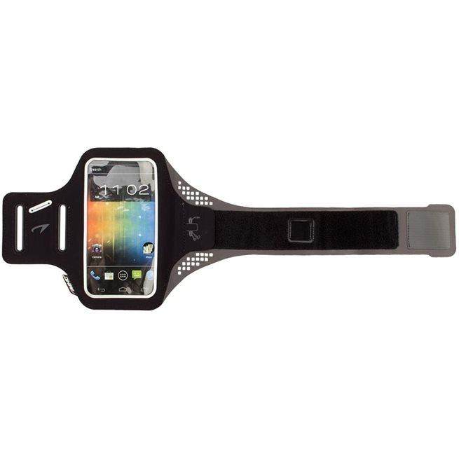 vidaXL Smartphone sportarmband grå